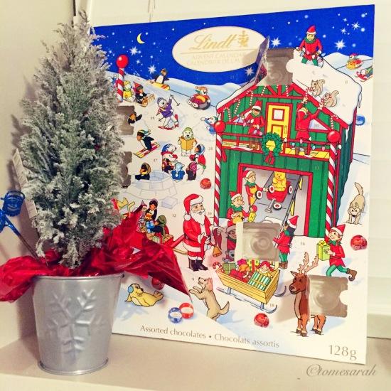 Mini Tree and Advent Calendar